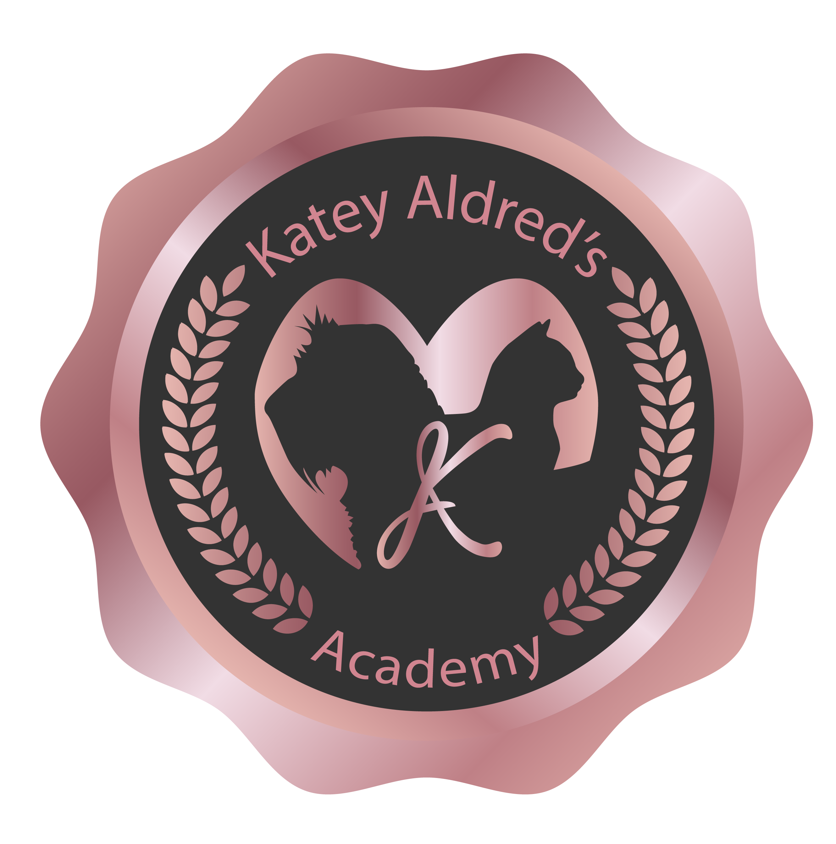 Academy Badge Rose Gold-02