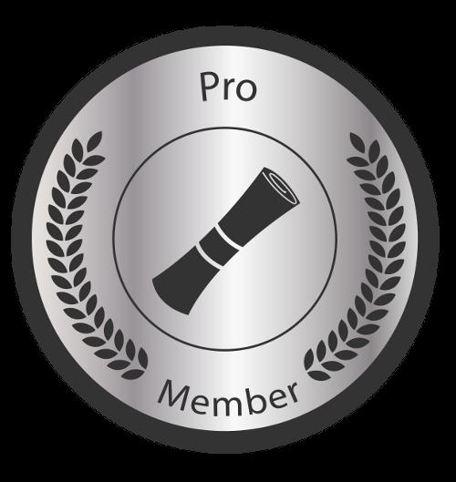 Pro Badge-500